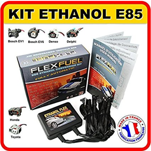 Le KIT E 85, l'avenir de l'automobile